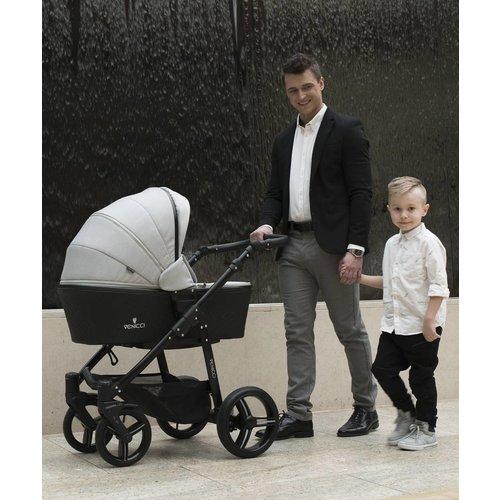 Venicci Shadow Dusty Grey - Zeer Complete Kinderwagen
