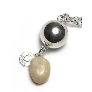 Proud MaMa Gemstone bola met Maansteen - Halsketting