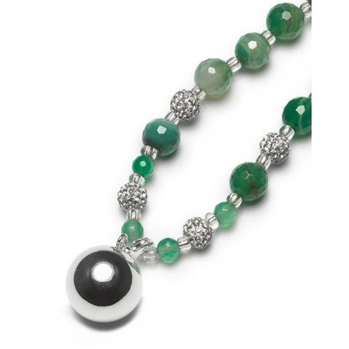 Proud MaMa BB minibola met Agaat halsketting - Groen