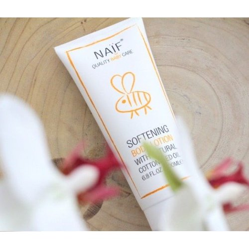 NAÏF Softening Body Lotion - baby lotion