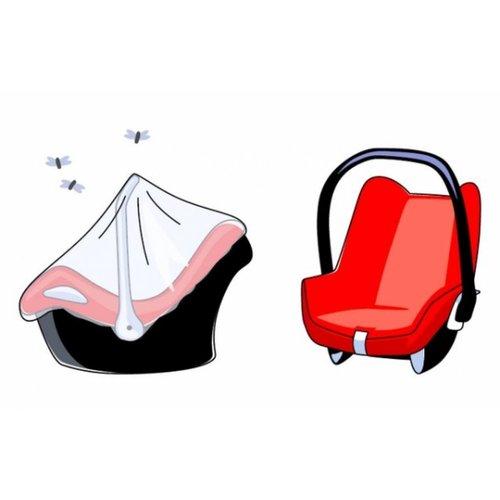 Klamboe autostoel groep 0 Zwart