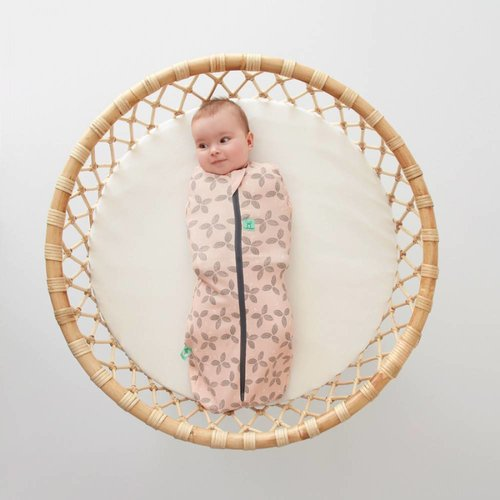 Ergopouch 1.0 TOG - All season Ergococoon Swaddle + Sleep Bag Petals