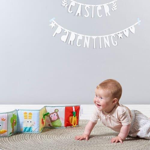 Taf Toys 3-in-1  Babybook - zacht, dubbelzijdig  babyboekje
