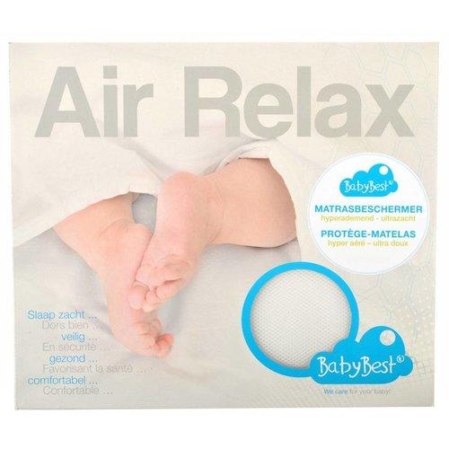BabyBest (Plum Plum) Matrasbeschermer Matrasbeschermer Air Relax 75x95cm