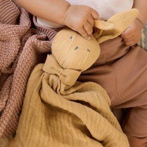 Elodie Details Blinkie Goldie knuffeldoekje  - Oker geel