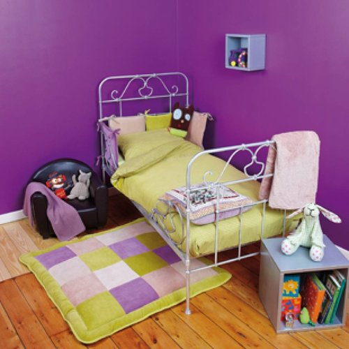 Donsovertrek bed 100x140cm - Polka Verde