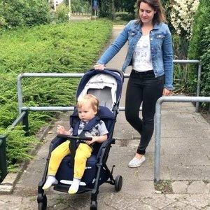 Qtus Tody lichtgewicht  wandelwagen - Buggy Blue
