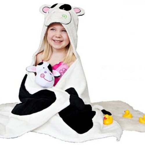 Zoocchini Kids badcape - Casey the Cow