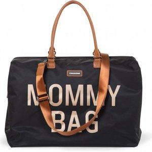 Childwood Mommy bag zeer grote verzorgingstas Zwart - Goud