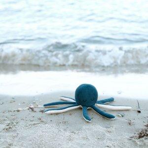 Fabelab Organic Rammelaar Octopus