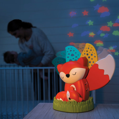 Infantino Vosje 3-in-1 Musical Night Light Projector - fox