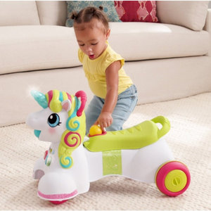Infantino Sensory 3 in 1 Ride on Unicorn
