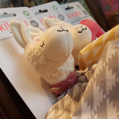 Kikadu Towel Doll lama Girl - knuffellapje lama