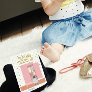 Milestone Babycards Baby's eerst Fashion momenten - Foto booklet Milestone