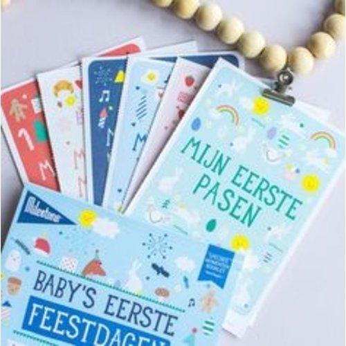 Milestone Babycards Baby's eerst Feestdagen momenten - Foto booklet Milestone