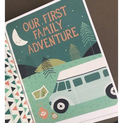 Milestone Babycards Baby's eerste Outdoor momenten - Foto booklet Milestone
