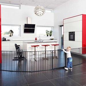 BabyDan Haardhek Olaf  X-XX-XXX zwart (voorheen, configure gate )
