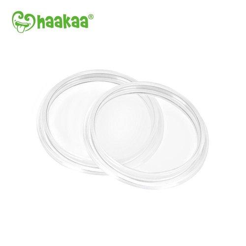 HaaKaa Afdekplaatjes voor Siliconen  Borstkolf /fles 3Gen