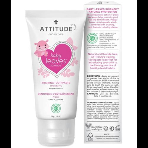 Attitude Peuter Tandpasta Baby leaves
