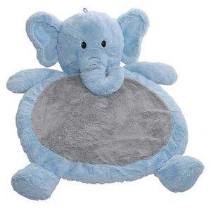 Mary Meyer Speeldeken / Knuffeldeken  / babymat - Blauwe olifant
