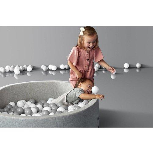 Kidkii Ballenbad gemaakt van planten - Licht grijs