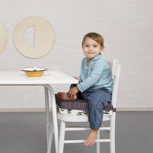 Simply Good Booster Cushion stoelverhoger - Pijlen/Vissen - verhoogkussen