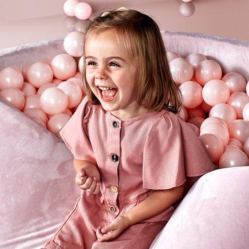 Kidkii Ballenbad gemaakt van planten - Roze Velvet
