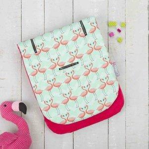 CuddleCo Memoryfoam Buggy inlegger - Flamingo