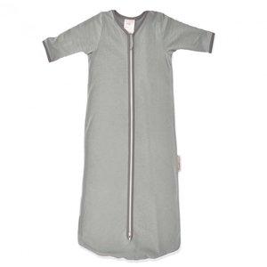Smallvips Zeer dunne zomer slaapzak bamboe-tricot met extra lange mouwen tegen muggen! - Grijs