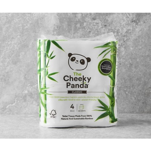 The Cheeky Panda Biologisch toiletpapier van Bamboe