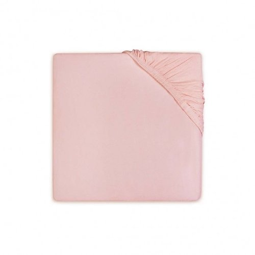 Little lemonade Hoeslaken voor ledikant - Jersey Stretch Soft Pink