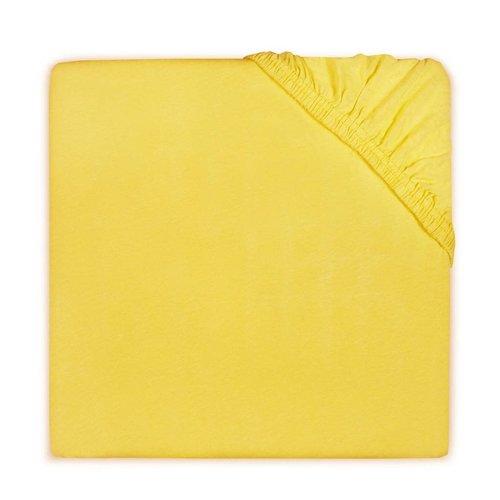 Little lemonade Hoeslaken voor ledikant - Jersey ocher