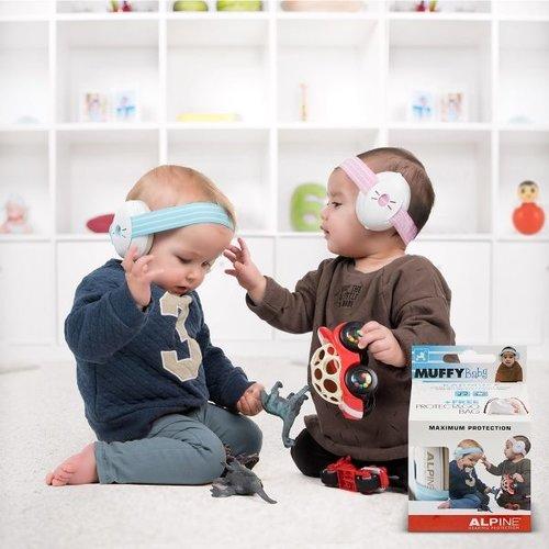 Alpine Gehoorbeschermer voor Baby's Blauw/grijs