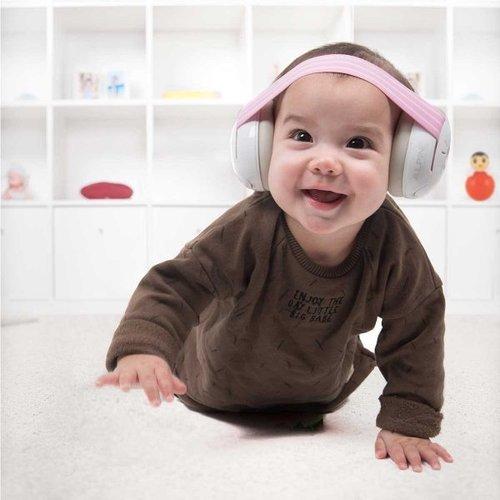 Alpine Gehoorbeschermer voor Baby's Roze/grijs