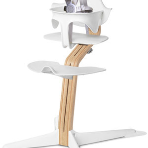 Nomi Kinderstoel Highchair Nomi Wit met beugel