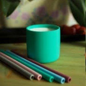 MiniKOiOi Fexibele rietjes van  100%  duurzaam siliconen