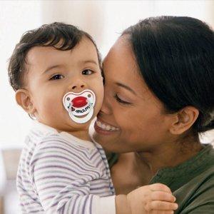 6 stuks Fopspeen I love mama dental  0-6 maanden