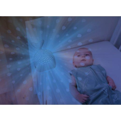 Zazu Nachtlampje Wally Blauw