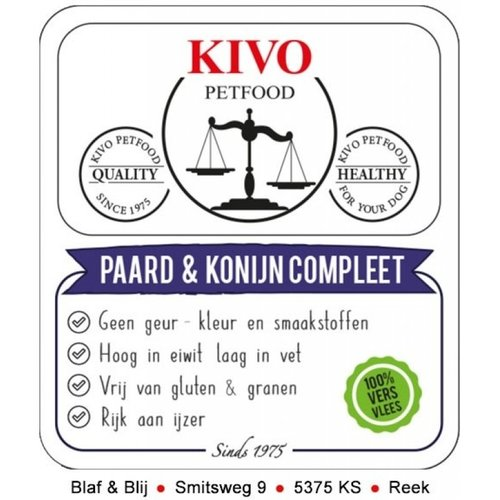 Kivo Kivo Paard & Konijn Compleet