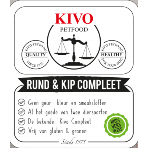 Kivo Kivo Rund & Kip Compleet