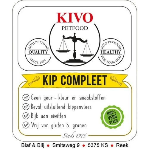 Kivo Kivo Kip Compleet