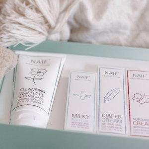 NAÏF Baby Starter Kit - complete set babyverzorging