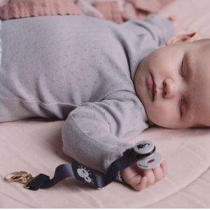 Elodie Details Pepe Mini - Fopspeenkoord - Pacifier Clips Playful Pepe Patch