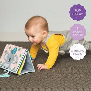 Taf Toys Tummy Time Book - boekje voor baby's