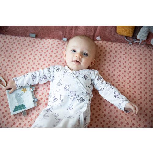 Snoozebaby Baby slaapzakje geboorte cocon en pakje in 1 - Soft Mauve