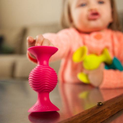 Fat Brain ToyCo Pip Squigz  - Zuignap speeltjes