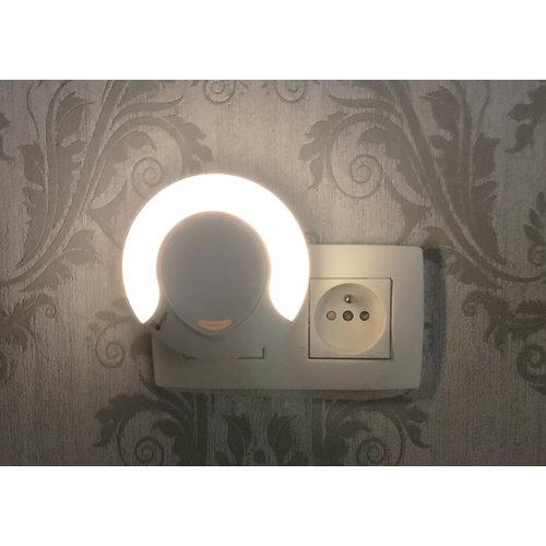 BoJungle B-Nightlight - Nachtlampje met stekker aan/uit knop