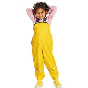 Playshoes Sneeuw broek / skibroek geel. fleece gevoerd