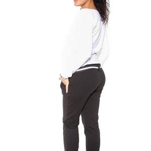 """Zwangerschaps trainingsbroek met riem """"Monika"""""""