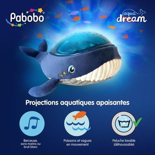Nachtlampje/projector Walvis Aqua Dream